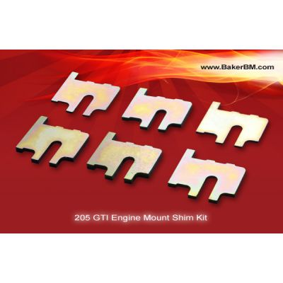 205 GTI Engine Mount Shim Kit
