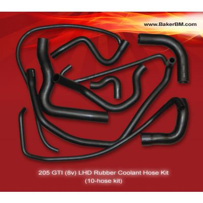 205 GTI (8v) Individual Coolant Hoses Selector