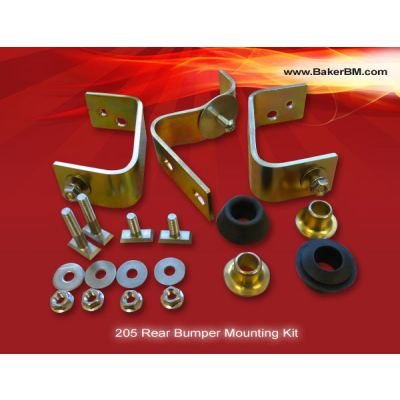 205 Rear Bumper Mounting Kit
