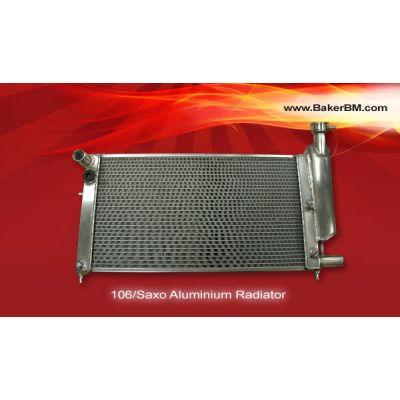 106/Saxo Aluminium Coolant Radiator