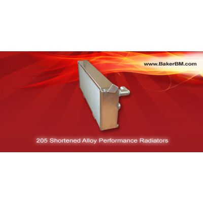 205 Shortened Coolant Radiator