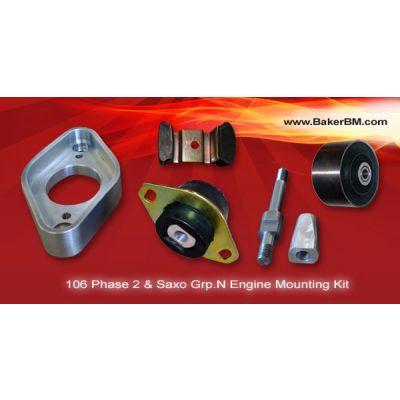 106 Phase 2 / Saxo Grp.N Engine Mounting Kit