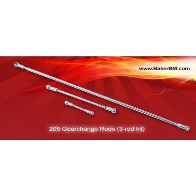 205 Gearchange Rods (3-rod kit)