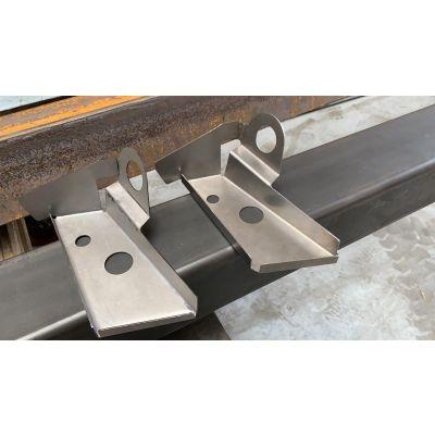 205 Gti Rear Quarter repair panel (For bumper mounting)