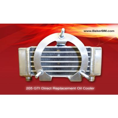 205 GTI Direct Replacement Oil Cooler