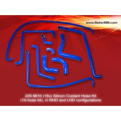 205 Mi16 Silicone Coolant Hoses Kit