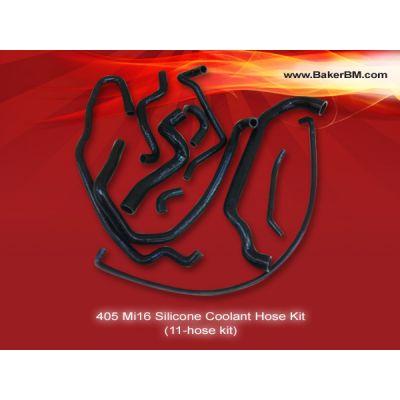 405 Mi16 Silicone Coolant Hoses Kit