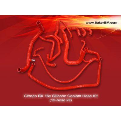 BX 16v Silicone Coolant Hoses Kit