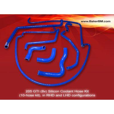 205 GTI 8v Silicone Coolant Hoses Kit