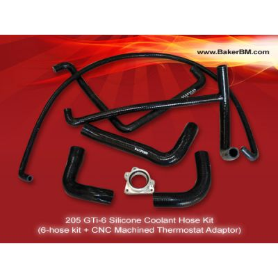 205 GTi-6 Silicone Coolant Hoses Kit