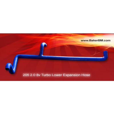 205 2.0 8v Turbo Silicone Lower Expansion Tank Hose