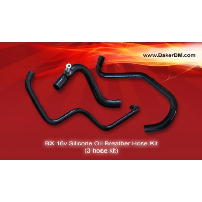 BX 16v Silicone Oil Breather Hose Kit