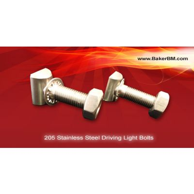205 Stainless Steel Driving Light Bolts