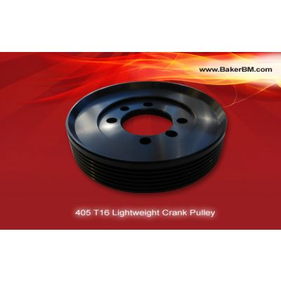 T16 Lightweight Crank Pulley
