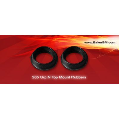 205 Grp.N Front Strut Top Rubbers